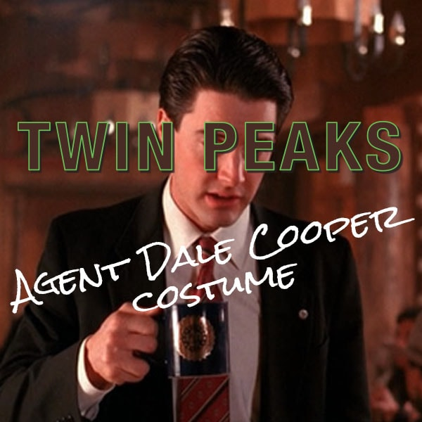 Special Agent Dale Cooper Halloween costume