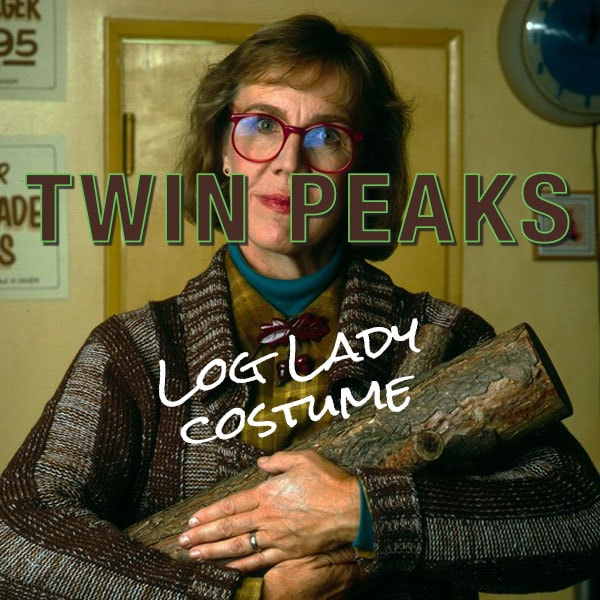 Log Lady Twin Peaks Halloween costume