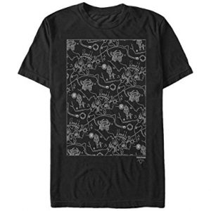 Twin Peaks Owl Cave Map T Shirt