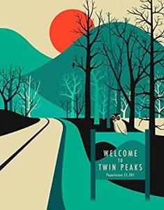 Twin Peaks Canvas Wall Art – 12″ x 16″