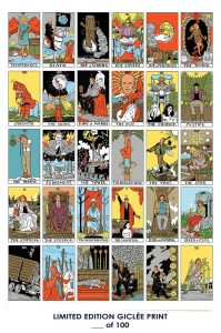 Twin Peaks Tarot Card Poster – 12×18