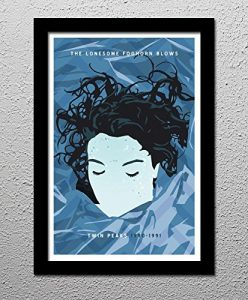 Laura Palmer Twin Peaks David Lynch Original Minimalist Art Poster Print
